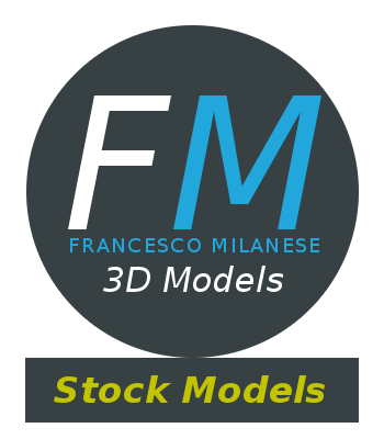 Francesco Milanese Stock 3D Models