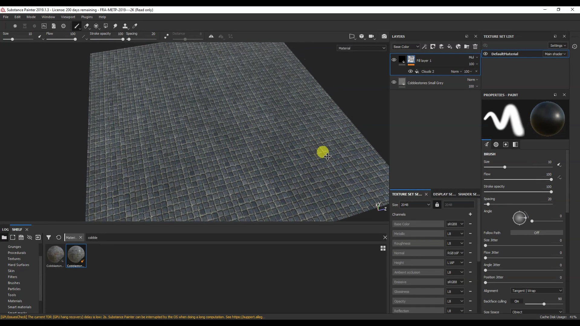 20210327 Substance Painter tutorial Aggiungere un pattern di casualita a Materiali ripetuti 04