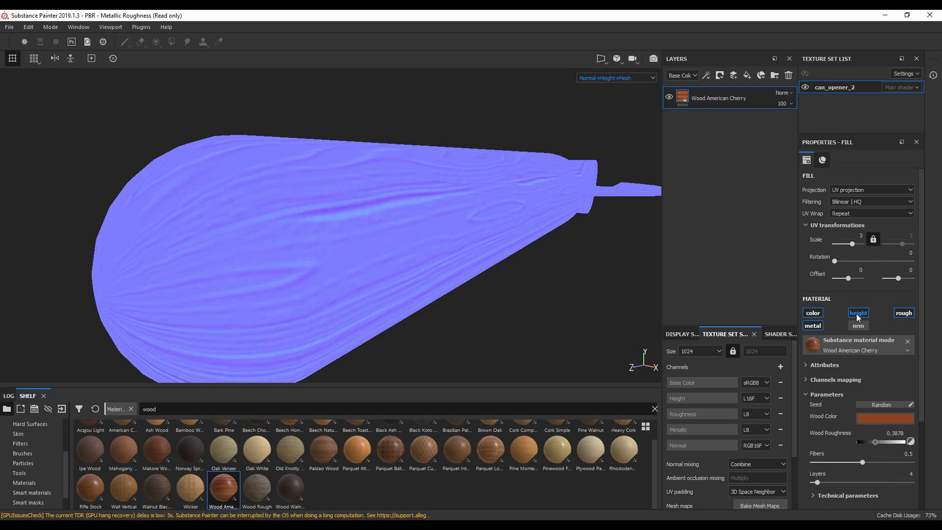 20190923 SP 2019 002 Due materiali in un Texture Set con le maschere 13